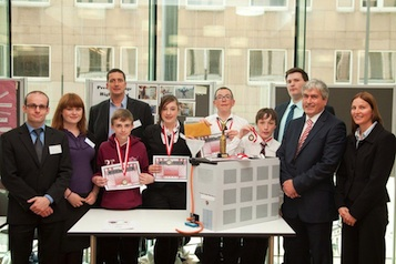 2012 Young SET Ambassadors runners up - Preston Lodge High School, Prestonpans, East Lothian