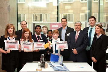 2012 Young SET Ambassadors runners up - St Augustine's Roman Catholic High School, Edinburgh