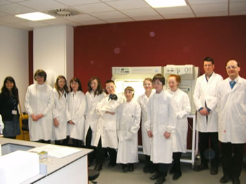 Visit to Edinburgh Napier University Biofuel Research Centre, Sighthill, Edinburgh