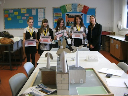 2013 Young SET Ambassadors runners up - Tynecastle High School, Edinburgh