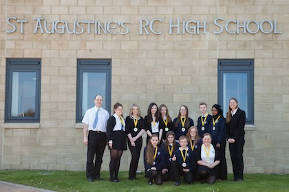 2013 Young SET Ambassadors runners up - St Augustine's Roman Catholic High School, Edinburgh